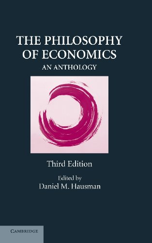 9780521883504: The Philosophy of Economics: An Anthology