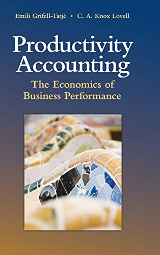 9780521883535: Productivity Accounting: The Economics of Business Performance