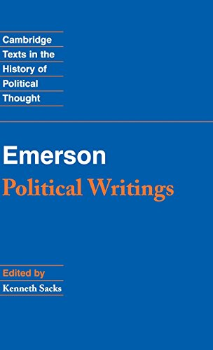 9780521883696: Emerson: Political Writings (Cambridge Texts in the History of Political Thought)