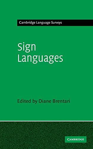 9780521883702: Sign Languages (Cambridge Language Surveys)