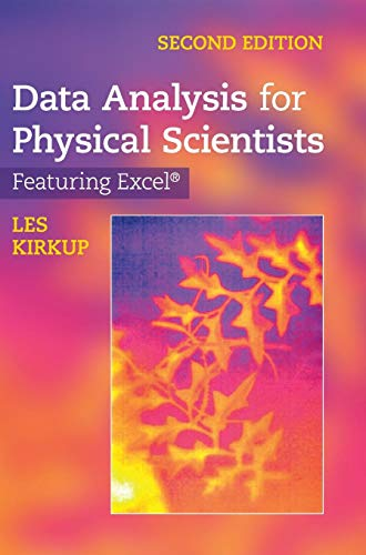 9780521883726: Data Analysis for Physical Scientists: Featuring Excel®