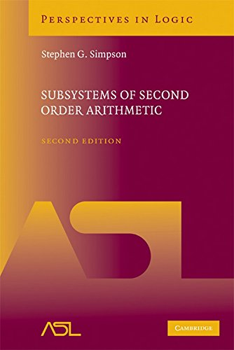 9780521884396: Subsystems of Second Order Arithmetic (Perspectives in Logic)