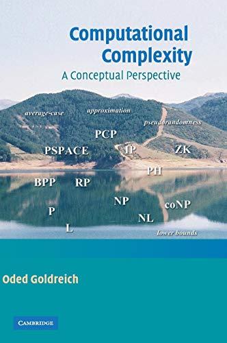 9780521884730: Computational Complexity: A Conceptual Perspective