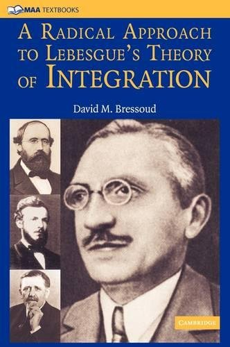 9780521884747: A Radical Approach to Lebesgue's Theory of Integration (Mathematical Association of America Textbooks)