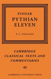 9780521884815: Pindar: 'Pythian Eleven' (Cambridge Classical Texts and Commentaries)