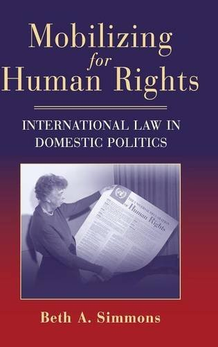 9780521885102: Mobilizing for Human Rights: International Law in Domestic Politics