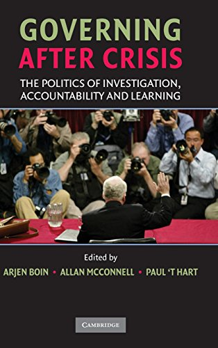 9780521885294: Governing after Crisis: The Politics of Investigation, Accountability and Learning