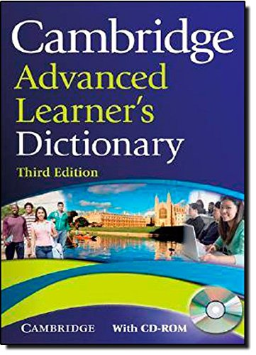 9780521885416: Cambridge Advanced Learner's Dictionary 3rd Hardback with CD-ROM (Dictionary & CD Rom)