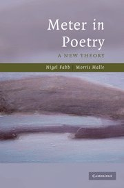 9780521885645: Meter in Poetry: A New Theory