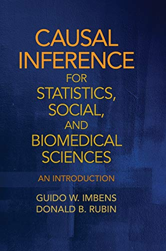 9780521885881: Causal Inference for Statistics, Social, and Biomedical Sciences