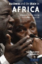 9780521886055: Business and the State in Africa: Economic Policy-Making in the Neo-Liberal Era