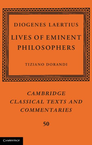 9780521886819: Diogenes Laertius: Lives of Eminent Philosophers (Cambridge Classical Texts and Commentaries)