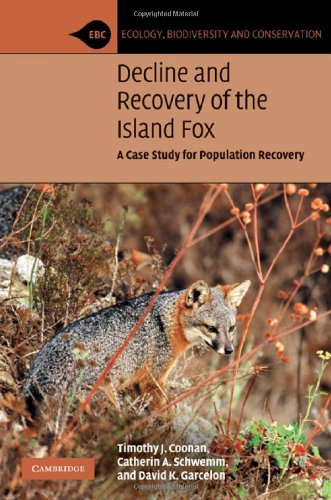 9780521887113: Decline and Recovery of the Island Fox: A Case Study for Population Recovery (Ecology, Biodiversity and Conservation)