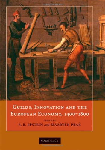 9780521887175: Guilds, Innovation and the European Economy, 1400â1800