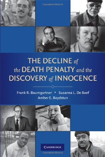 9780521887342: The Decline of the Death Penalty and the Discovery of Innocence