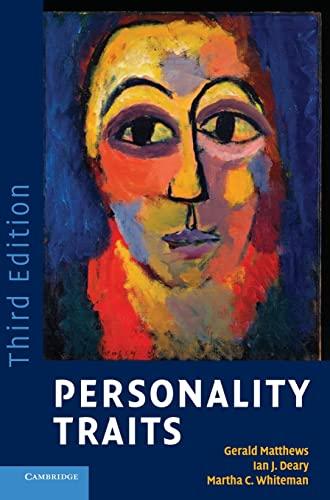 9780521887786: Personality Traits