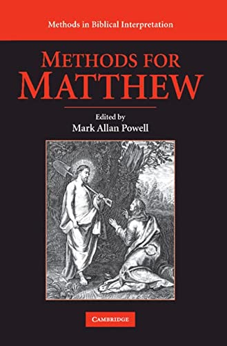 9780521888080: Methods for Matthew (Methods in Biblical Interpretation)