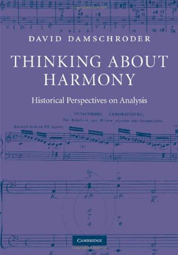 9780521888141: Thinking about Harmony: Historical Perspectives on Analysis