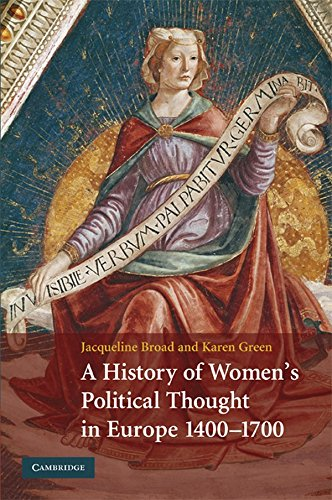 9780521888172: A History of Women's Political Thought in Europe, 1400-1700