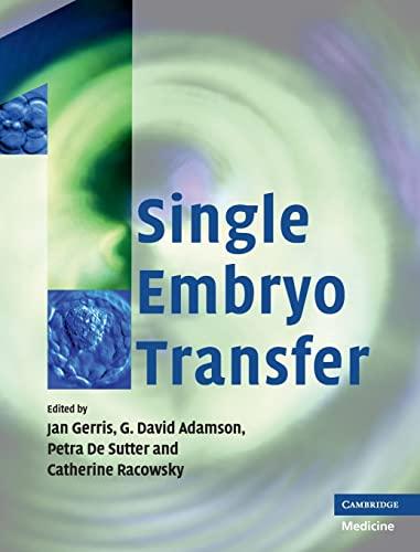 9780521888349: Single Embryo Transfer
