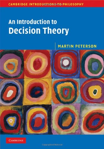 9780521888370: An Introduction to Decision Theory Hardback (Cambridge Introductions to Philosophy)
