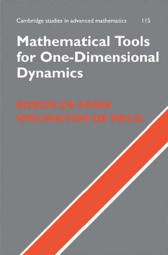Mathematical Tools for One-Dimensional Dynamics (Hardcover): Edson De Faria