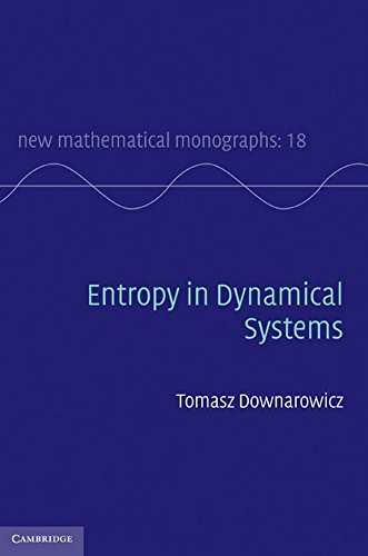 9780521888851: Entropy in Dynamical Systems (New Mathematical Monographs, Vol. 18)