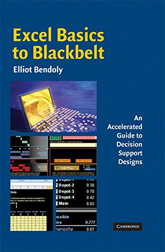 9780521889056: Excel Basics to Blackbelt: An Accelerated Guide to Decision Support Designs