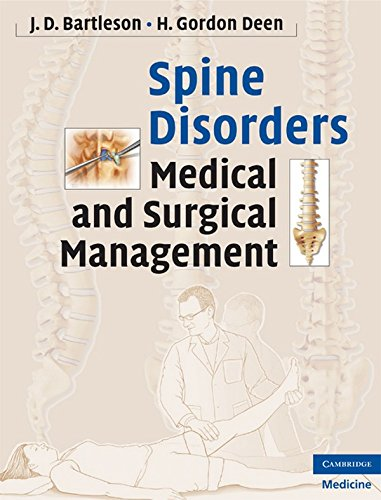 9780521889414: Spine Disorders: Medical and Surgical Management