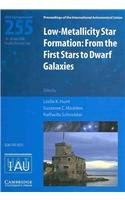 9780521889865: Low-metallicity Star Formation (IAU S255): From the First Stars to Dwarf Galaxies (Proceedings of the International Astronomical Union Symposia and Colloquia)