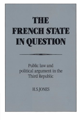 9780521890991: The French State in Question