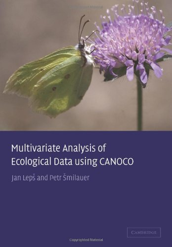 9780521891080: Multivariate Analysis of Ecological Data using CANOCO