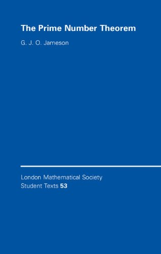 9780521891103: The Prime Number Theorem Paperback (London Mathematical Society Student Texts)