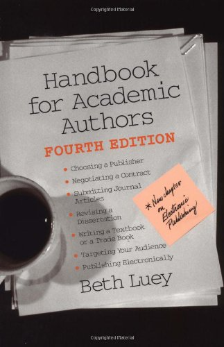 9780521891981: Handbook for Academic Authors