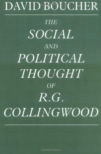 9780521892681: The Social and Political Thought of R. G. Collingwood