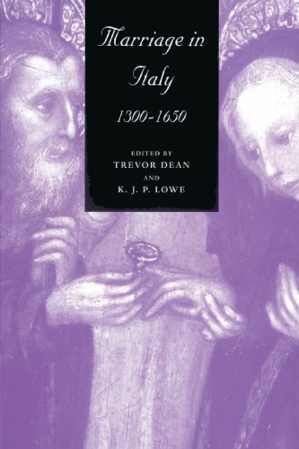 9780521893763: Marriage in Italy, 1300-1650