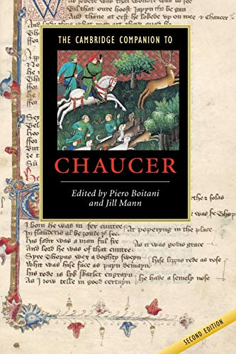 9780521894678: The Cambridge Companion to Chaucer (Cambridge Companions to Literature)