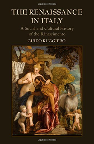 9780521895200: The Renaissance in Italy: A Social and Cultural History of the Rinascimento