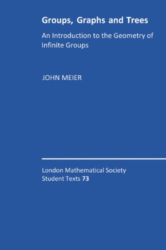 9780521895453: Groups, Graphs and Trees: An Introduction to the Geometry of Infinite Groups