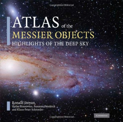 9780521895545: Atlas of the Messier Objects Hardback: Highlights of the Deep Sky