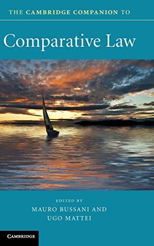 9780521895705: The Cambridge Companion to Comparative Law (Cambridge Companions to Law)