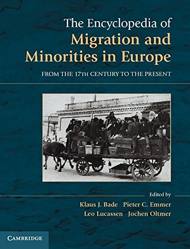 9780521895866: The Encyclopedia of European Migration and Minorities: From the Seventeenth Century to the Present
