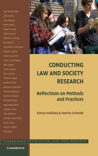 9780521895910: Conducting Law and Society Research: Reflections on Methods and Practices (Cambridge Studies in Law and Society)
