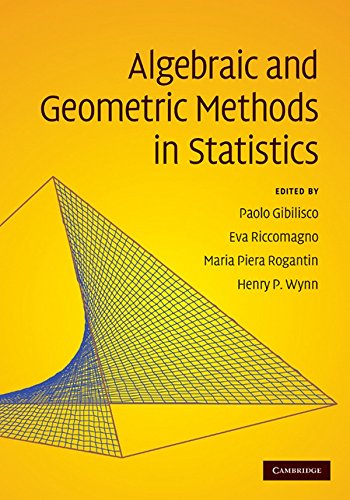 9780521896191: Algebraic and Geometric Methods in Statistics