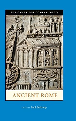 9780521896290: The Cambridge Companion to Ancient Rome (Cambridge Companions to the Ancient World)