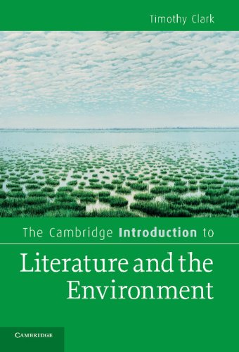 9780521896351: The Cambridge Introduction to Literature and the Environment (Cambridge Introductions to Literature)