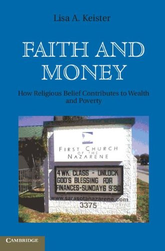 9780521896511: Faith and Money: How Religion Contributes to Wealth and Poverty
