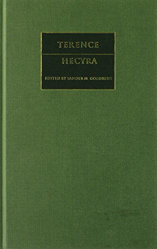 9780521896924: Terence: Hecyra (Cambridge Greek and Latin Classics)