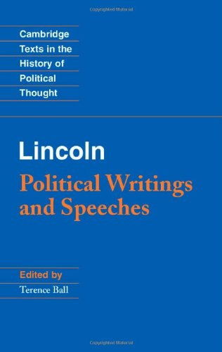 9780521897280: Lincoln: Political Writings and Speeches (Cambridge Texts in the History of Political Thought)