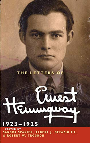 9780521897341: The Letters of Ernest Hemingway: Volume 2, 1923-1925 (The Cambridge Edition of the Letters of Ernest Hemingway)